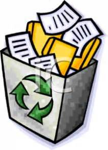 An essay about recycling